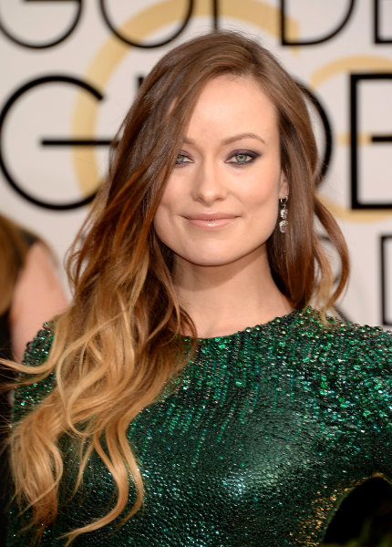 BEVERLY HILLS, CA - JANUARY 12:  Actress Olivia Wilde attends the 71st Annual Golden Globe Awards held at The Beverly Hilton Hotel on January 12, 2014...