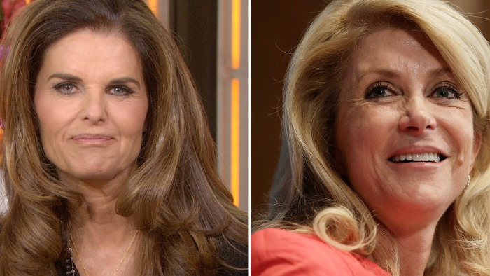 Maria Shriver's exclusive interview with Wendy Davis will air Wednesday on TODAY.