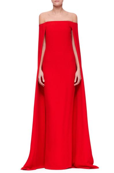Ralph Lauren Collection, Audrey Cape Evening Gown