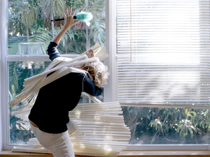 Image: Attack of the horizontal blinds