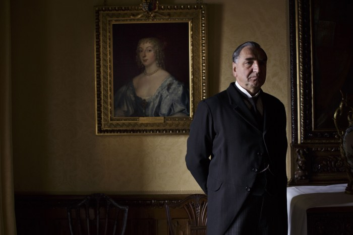 "Image: Carson on ""Downton Abbey"""