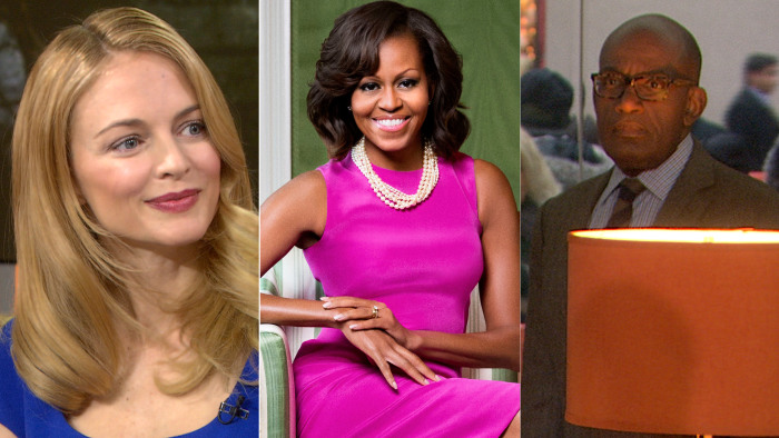 "Heather Graham talks ""Flowers in the Attic"" adaptation, Michelle Obama turns 50 and Al inspires #Rokering."