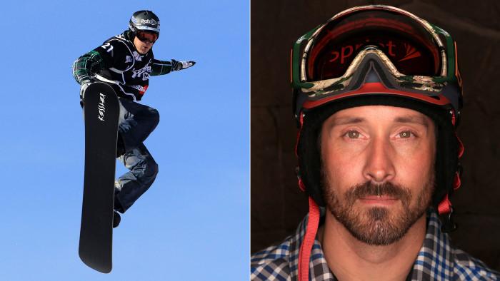 Olympic snowboarder Seth Wescott