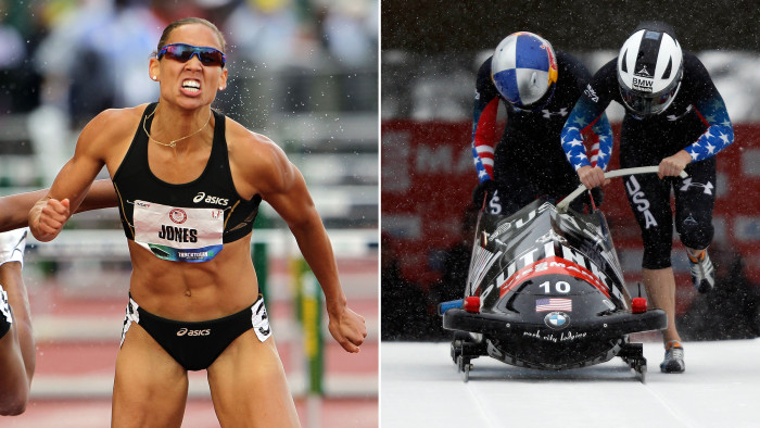 In less than two years, Lolo Jones has gone from a disappointing fourth-place finish in the 100-meter hurdles in London to a member of the U.S. bobsledding team headed to Sochi.