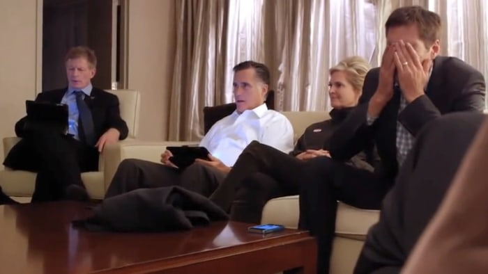 Whiteley had access to the Romney camp's most private moments for the documentary, which hits Netflix on Friday.