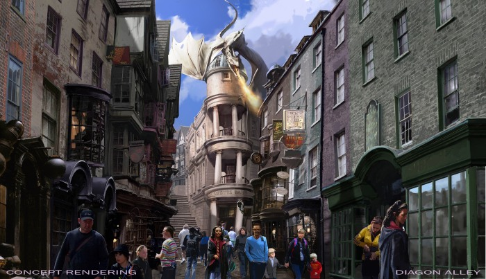 Wizarding World of Harry Potter, Diagon Alley, Universal Studios Florida