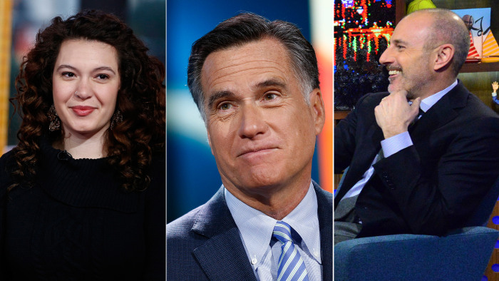 College friends find out they're sisters, Mitt Romney isn't worried about Olympic security and Matt lets loose with Andy Cohen.