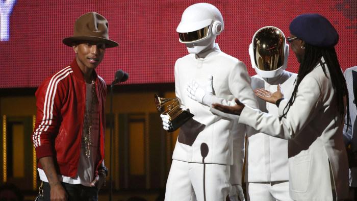 IMAGE: Pharrell Williams, Daft Punk, Nile Rodgers