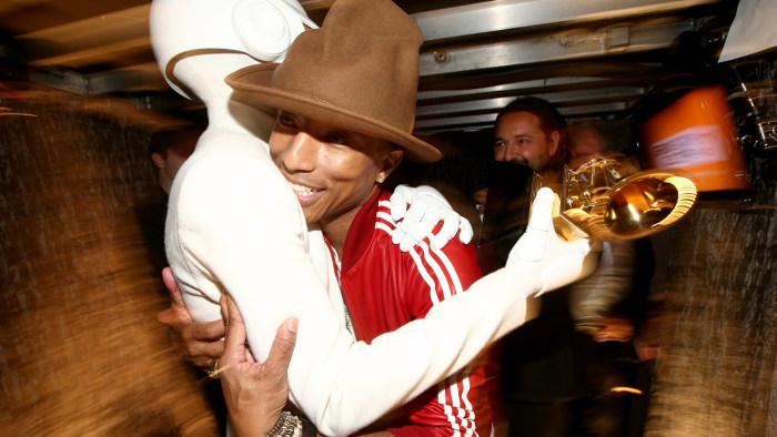 IMAGE: Thomas Bangalter and Pharrell Williams