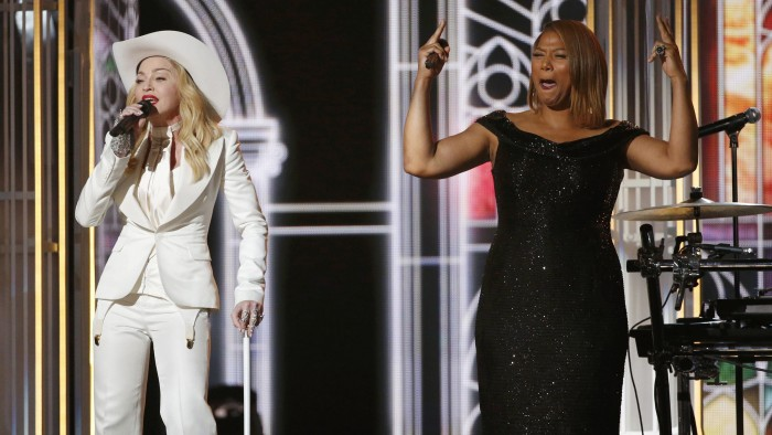 Image: Madonna and Queen Latifah