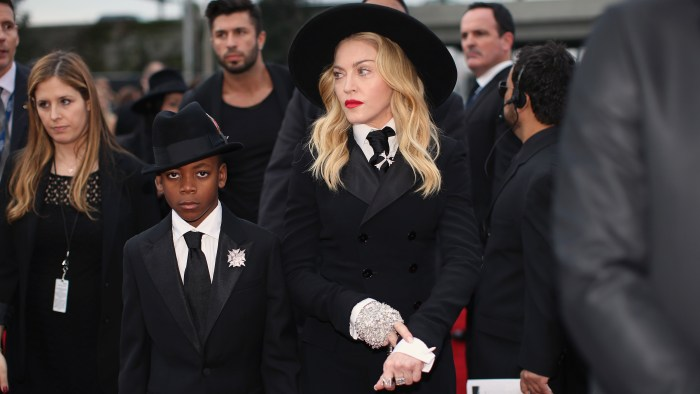Image: Madonna and her son