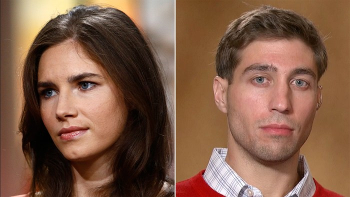 Amanda Knox has confided in Ryan Ferguson, who spent 10 years in prison for a murder he didn't commit, as she awaits the verdict from an Italian court for her latest trial involving the murder of a former roommate.