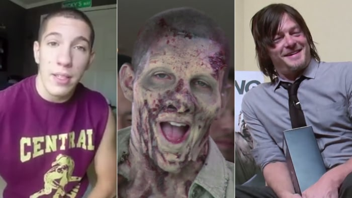 Whether New Jersey teen Nick Santonastasso is wrestling for his high school team or making viral zombie videos pranking the likes of Walking Dead star Norman Reedus, he aims to inspire and entertain.