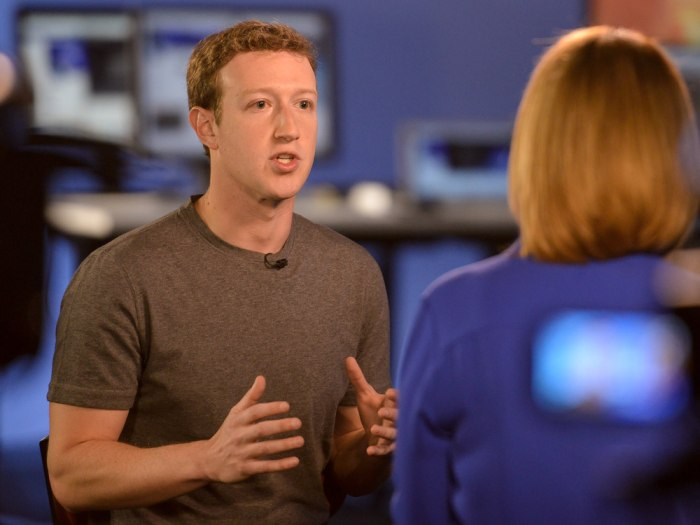 Mark Zuckerberg sat down with Savannah Guthrie for an interview airing Tuesday on TODAY.