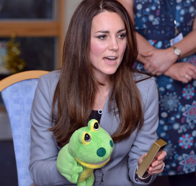 Duchess Kate will step out on Valentine's Day to help open a new art center for children in London.