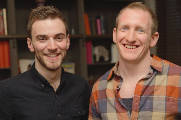 Jonny Benjamin with Good Samaritan Neil Laybourn, who convinced him not to commit suicide.