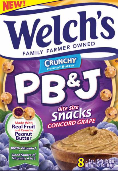 PB&J snacks