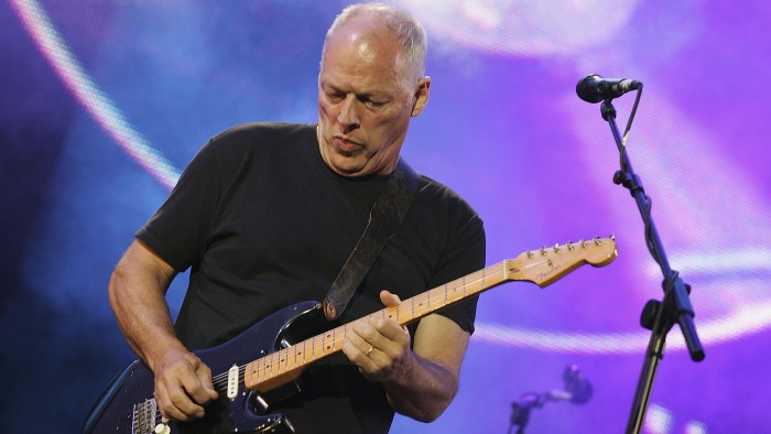 Image: Dave Gilmour of Pink Floyd