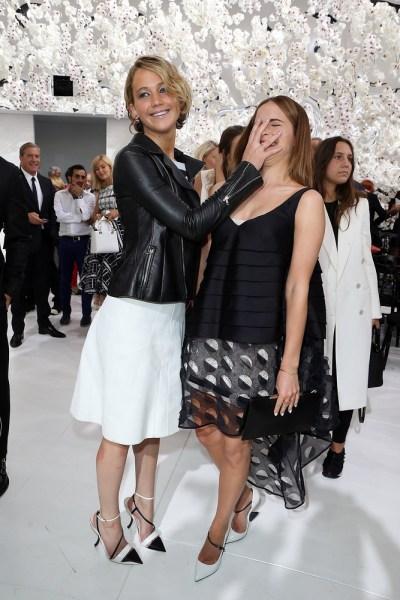 Jennifer Lawrence and Emma Watson.