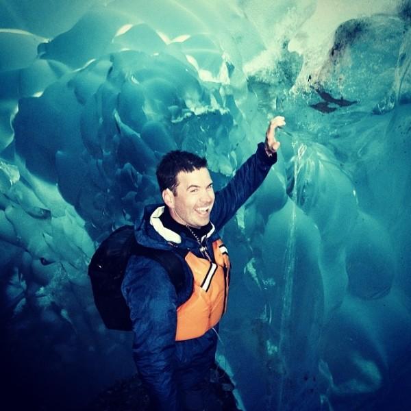 Manson ice cave