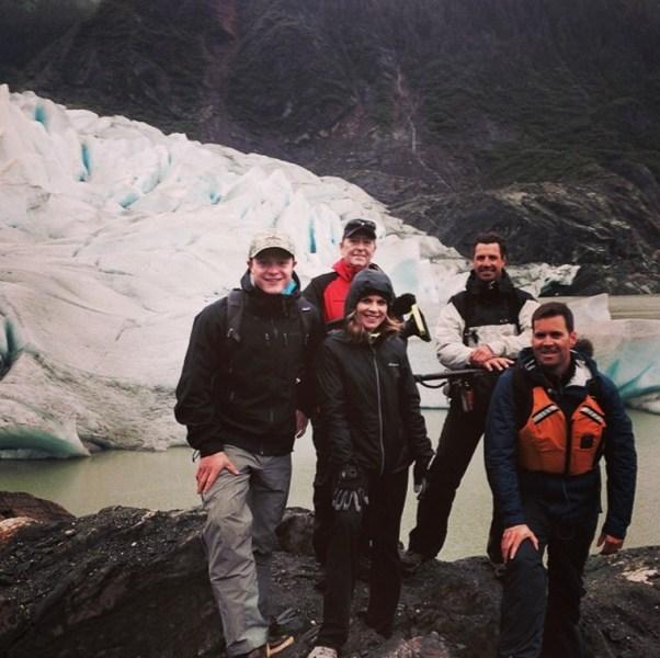 NBC News crew Alaska