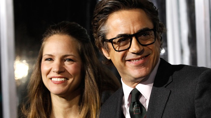 Image: Robert Downey Jr. and Susan Downey