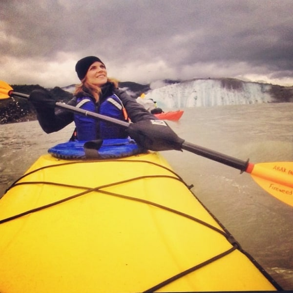 Natalie kayak
