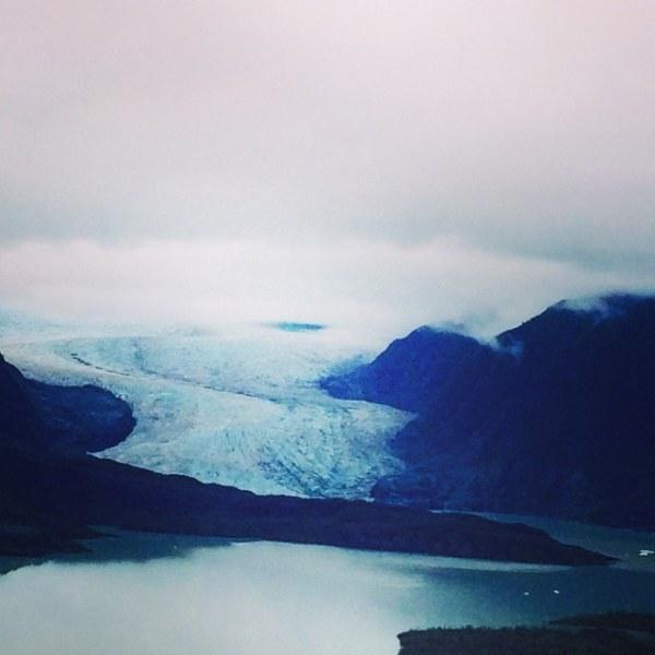 Natalie glacier shot