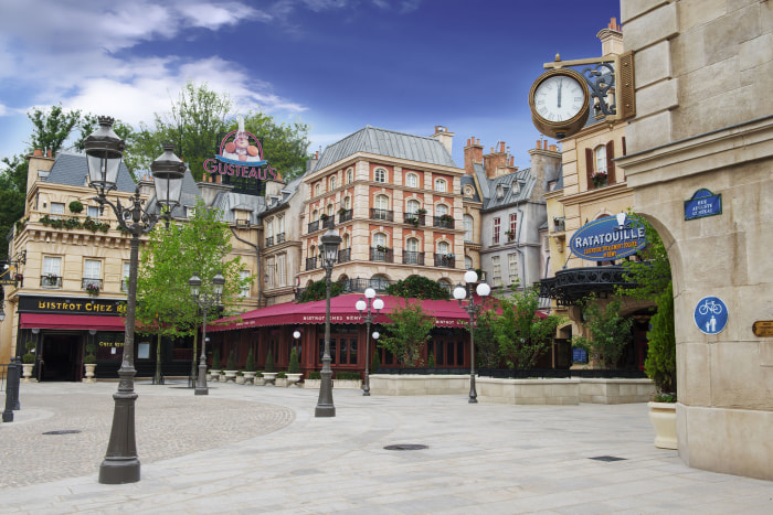 "Image: ""Ratatouille"" attraction at Disneyland Paris"