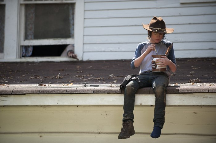 "Image: Chandler Riggs as Carl Grimes ""The Walking Dead"""