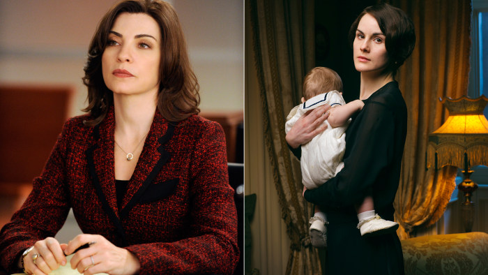 Image: The Good Wife, Downton Abbey