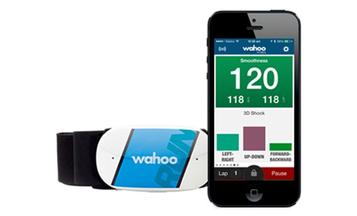 Wahoo Tickr Run heart rate monitor and training tool  $80, http://wahoofitness.com