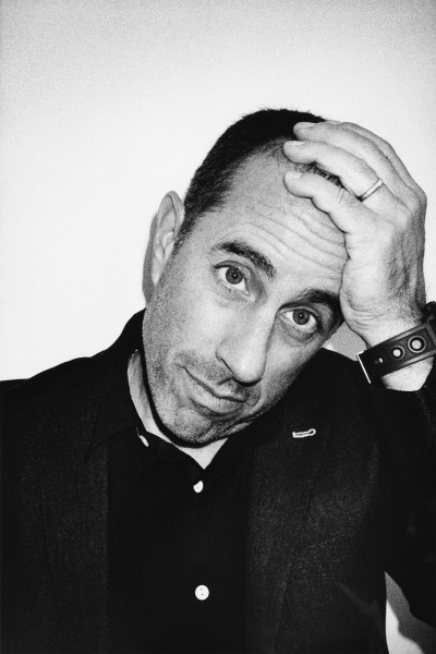 Comedian Jerry Seinfeld models a look from the Rag & Bone Spring/Summer 2015 menswear collection.