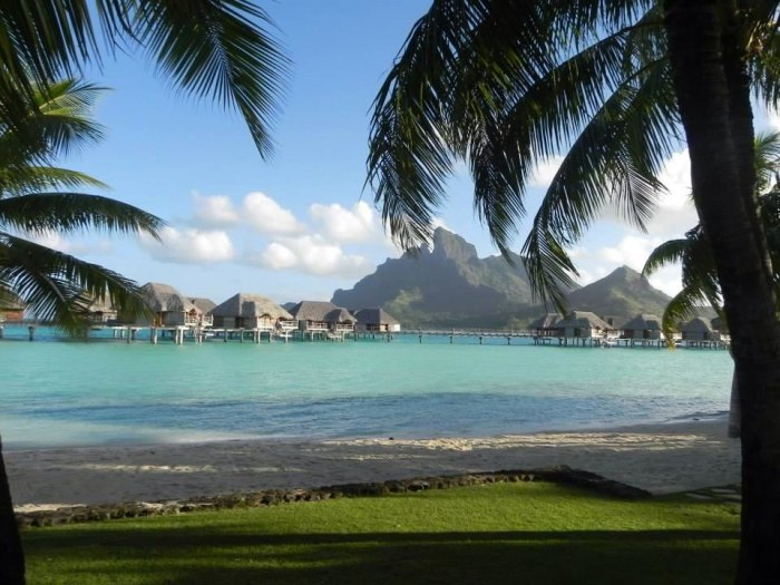 Our honeymoon in Bora Bora!