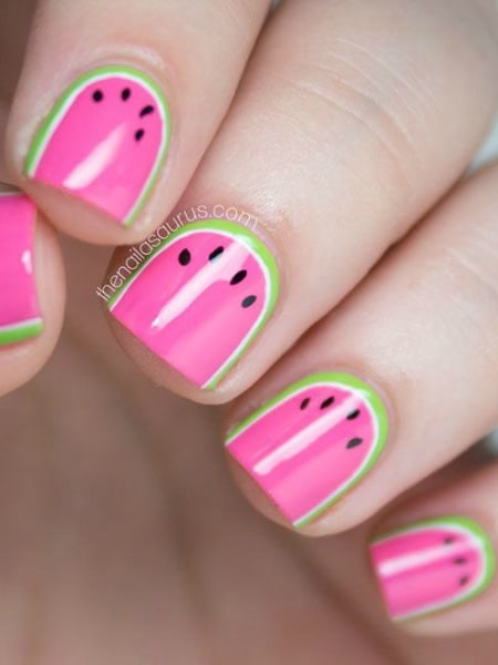 DIY: Summer nail art designs, colorblocked manicures - TODAY.com