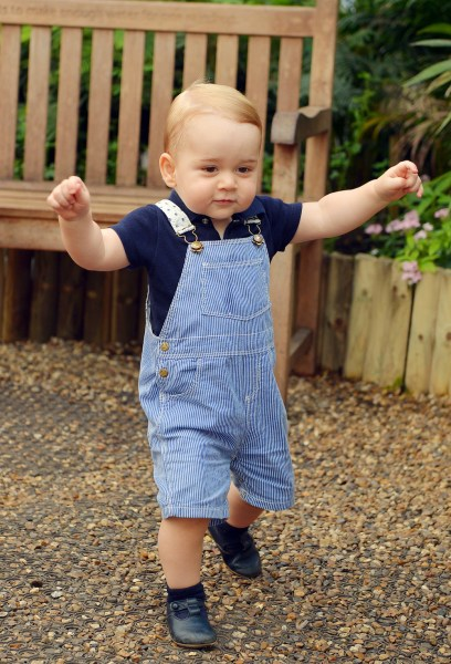 Embargoed to 2230 Saturday July 19  EDITORIAL USE ONLY  This photo dated Wednesday July 2, 2014, was taken to mark Prince George's first birthday and ...