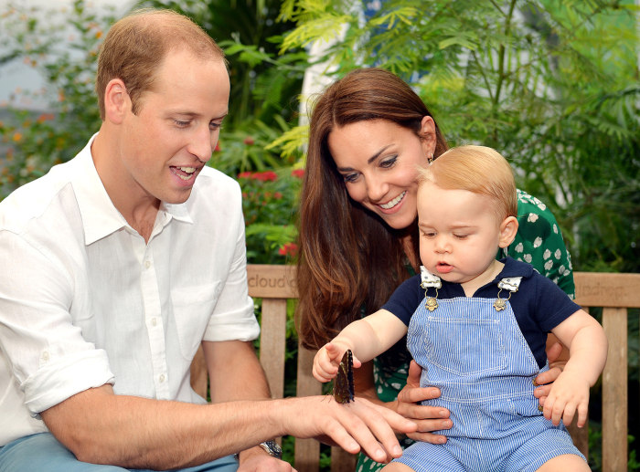 Embargoed to 2230 Monday July 21  EDITORIAL USE ONLY  This photo dated Wednesday July 2, 2014, was taken to mark Prince George's first birthday and sh...