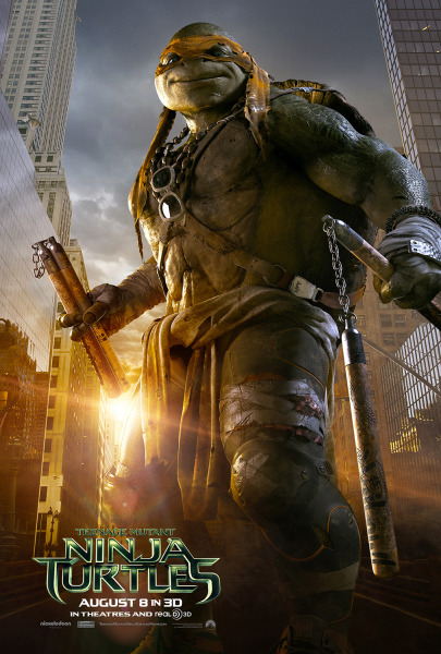 Cowabunga, dude! The pizza-loving mutant turtles get an action-hero makeover in the new live-action movie; advocates for actual turtles are worried about a run on the shelled pets.