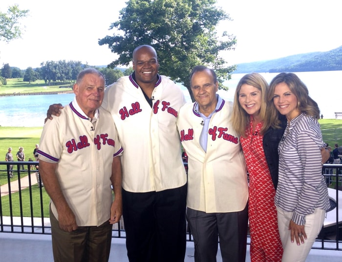 Jenna and Natalie speak to three soon-to-be Baseball Hall of Famers: Bobby Cox, Frank Thomas and Joe Torre.