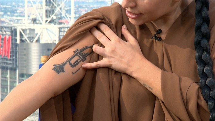 Image: Lady Gaga's new tattoo
