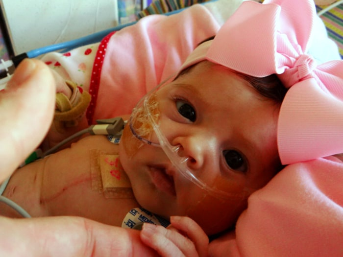 Juliana Graves got a heart transplant 17 days after she was born.