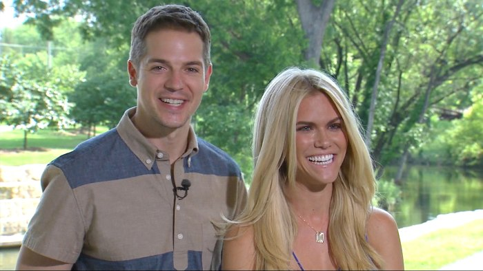 E!'s Jason Kennedy and Lauren Scruggs (right) are engaged.