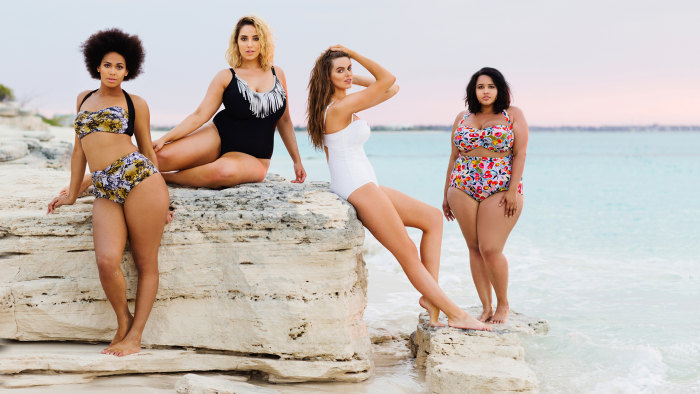 'All bodies should be celebrated': Plus-size models star ...