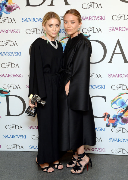 Mary-Kate Olsen and Ashley Olsen won the Accessories Designer of the Year award.