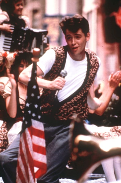 "In 2014, Ferris singing ""Twist & Shout"" on a parade float in the middle of Chicago would be on YouTube in minutes."