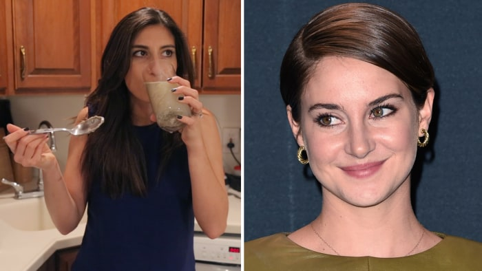 TODAY.com editor Meena Hart Duerson tries out one of Shailene Woodley's favorite natural remedies, clay.