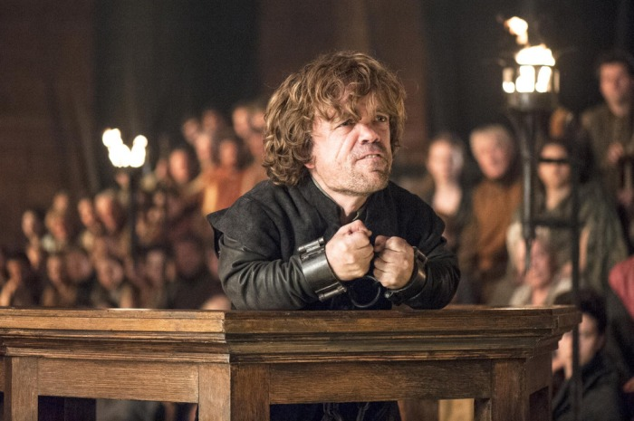 """Image: Peter Dinklage as Tyrion Lannister on """"Game of Thrones"""""""