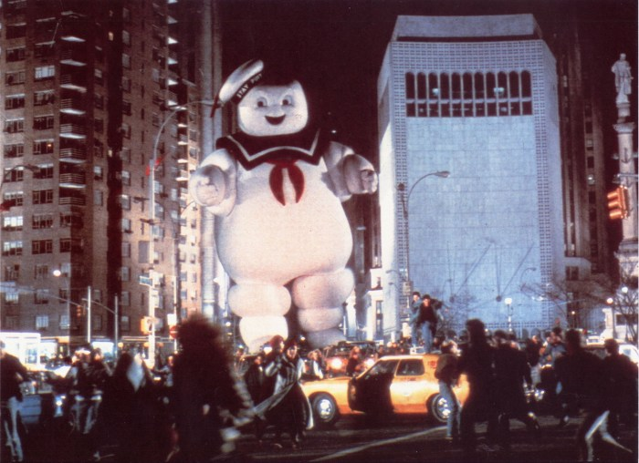 "Image: Mr. Stay Puft in ""Ghostbusters"""