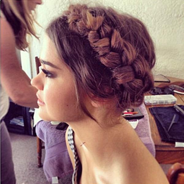 hair tips: heidi braid diy