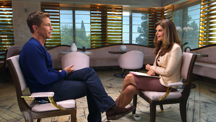 """""""My boys were going to be my life's work,"""" the actor told Maria Shriver on TODAY Tuesday."""